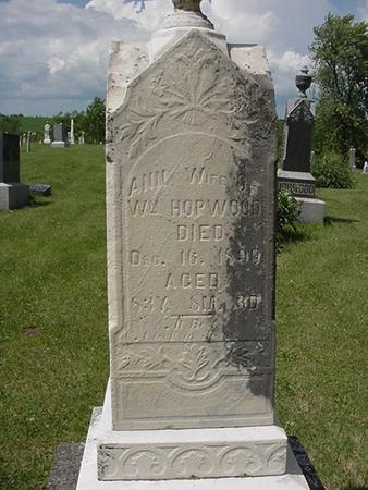 HOPWOOD, ANN - Poweshiek County, Iowa | ANN HOPWOOD