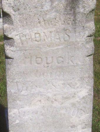 HOUCK, THOMAS WILLIAM - Poweshiek County, Iowa | THOMAS WILLIAM HOUCK