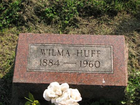 HUFF, WILMA - Poweshiek County, Iowa   WILMA HUFF