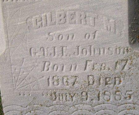 JOHNSON, GILBERT M. - Poweshiek County, Iowa | GILBERT M. JOHNSON