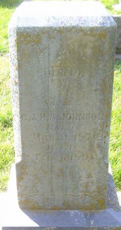 JOHNSON, JOHN D. - Poweshiek County, Iowa | JOHN D. JOHNSON
