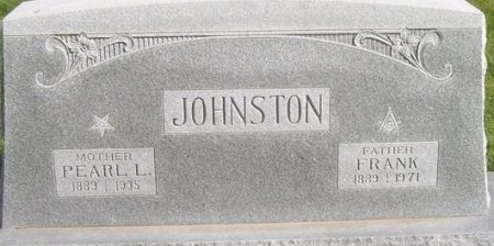 JOHNSTON, PEARL L. - Poweshiek County, Iowa | PEARL L. JOHNSTON