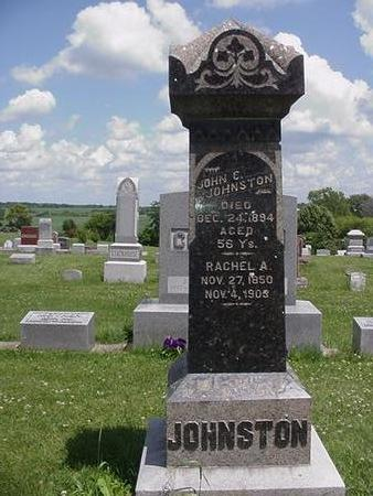 JOHNSTON, JOHN - Poweshiek County, Iowa   JOHN JOHNSTON