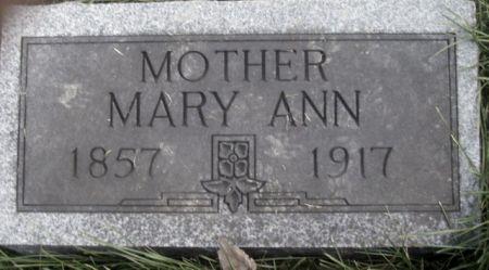 JOHNSTON, MARY ANN - Poweshiek County, Iowa | MARY ANN JOHNSTON