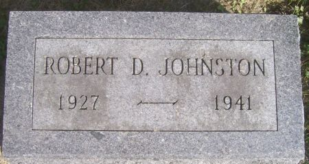 JOHNSTON, ROBERT D. - Poweshiek County, Iowa   ROBERT D. JOHNSTON