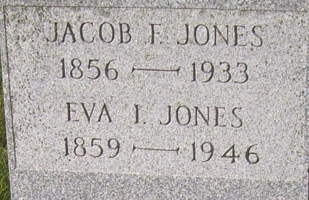 JONES, JACOB F. - Poweshiek County, Iowa | JACOB F. JONES