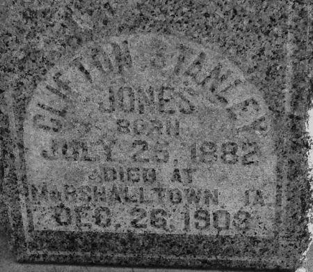 JONES, CLIFTON STANLEY - Poweshiek County, Iowa | CLIFTON STANLEY JONES