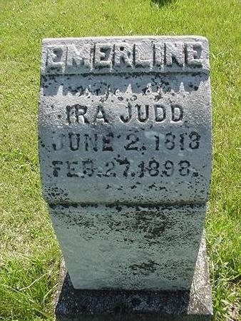 JUDD, EMERLINE - Poweshiek County, Iowa | EMERLINE JUDD