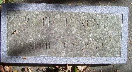 KENT, RUTH L. - Poweshiek County, Iowa | RUTH L. KENT