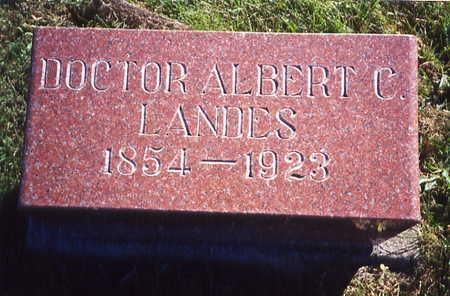 LANDES, ALBERT CARY (DR.) - Poweshiek County, Iowa | ALBERT CARY (DR.) LANDES