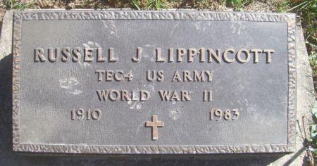 LIPPINCOTT, RUSSELL J. - Poweshiek County, Iowa   RUSSELL J. LIPPINCOTT