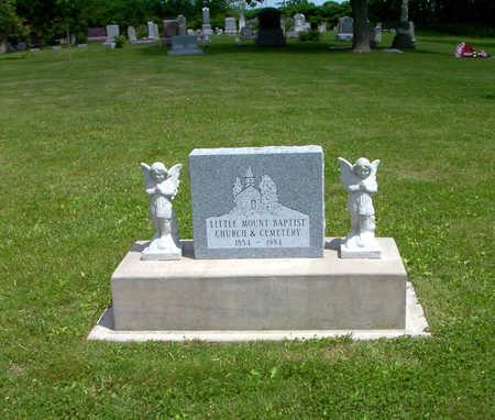 LITTLE MOUNT BAPTIST, CEMETERY - Poweshiek County, Iowa | CEMETERY LITTLE MOUNT BAPTIST