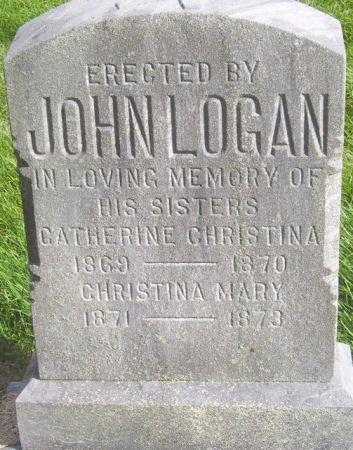 LOGAN, CATHERINE CHRISTINA - Poweshiek County, Iowa | CATHERINE CHRISTINA LOGAN