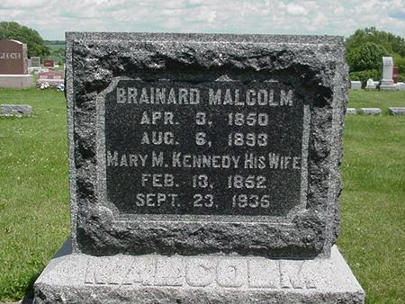 MALCOLM, MARY - Poweshiek County, Iowa | MARY MALCOLM