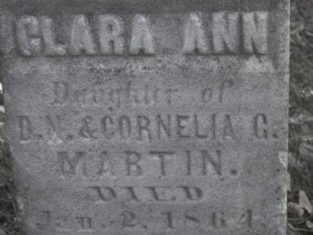 MARTIN, CLARA ANN - Poweshiek County, Iowa | CLARA ANN MARTIN