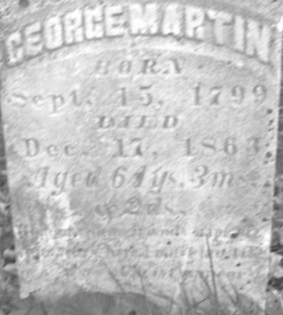 MARTIN, GEORGE - Poweshiek County, Iowa | GEORGE MARTIN