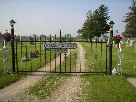 MASONIC & I.O.O.F., CEMETERY - Poweshiek County, Iowa | CEMETERY MASONIC & I.O.O.F.
