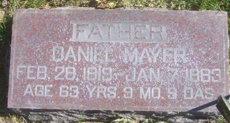 MAYER, DANIEL - Poweshiek County, Iowa | DANIEL MAYER