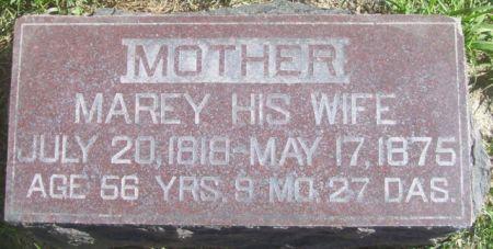 MAYER, MAREY - Poweshiek County, Iowa | MAREY MAYER