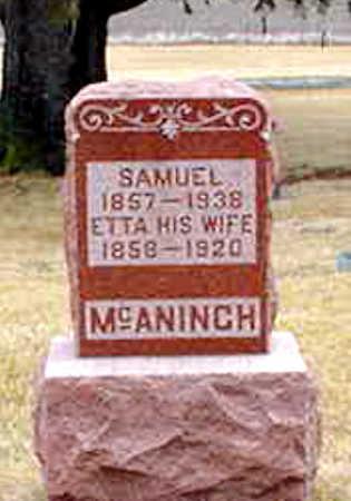 MCANINCH, SAMUEL - Poweshiek County, Iowa | SAMUEL MCANINCH