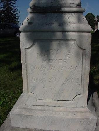 MEYER, MARY - Poweshiek County, Iowa | MARY MEYER