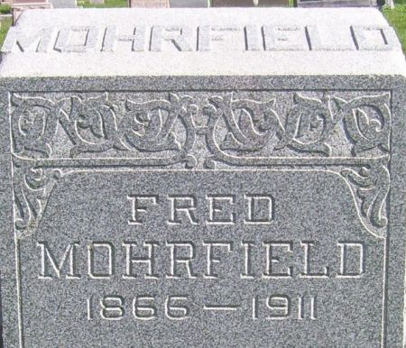 MOHRFIELD, FRED - Poweshiek County, Iowa | FRED MOHRFIELD