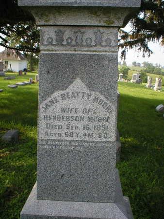 BEATTY MOORE, JANE - Poweshiek County, Iowa | JANE BEATTY MOORE