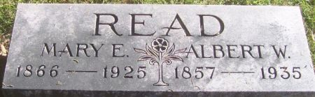 READ, ALBERT W. - Poweshiek County, Iowa | ALBERT W. READ