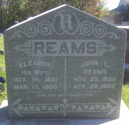 REAMS, JOHN L. - Poweshiek County, Iowa | JOHN L. REAMS