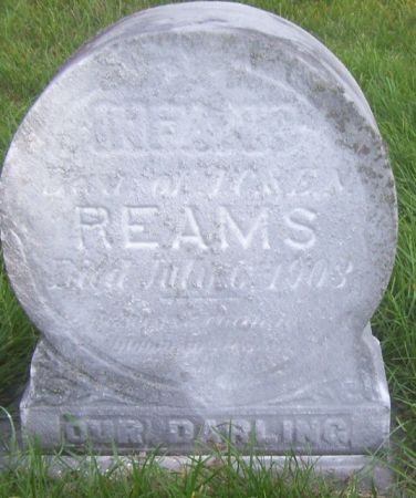 REAMS, INFANT DAUGHTER - Poweshiek County, Iowa | INFANT DAUGHTER REAMS