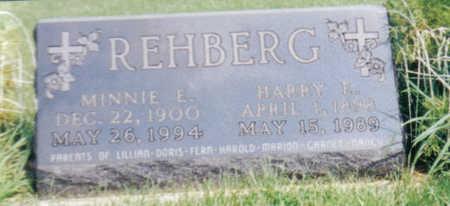 JOCHIMS REHBERG, MINNIE E - Poweshiek County, Iowa | MINNIE E JOCHIMS REHBERG