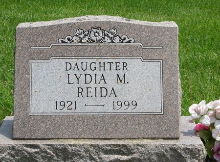 REIDA, LYDIA M. - Poweshiek County, Iowa | LYDIA M. REIDA