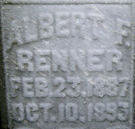 RENNER, ALBERT F. - Poweshiek County, Iowa | ALBERT F. RENNER