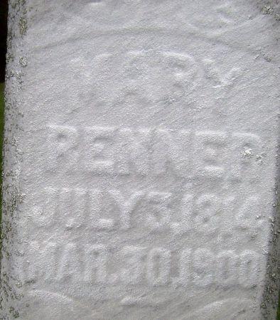 RENNER, MARY - Poweshiek County, Iowa | MARY RENNER