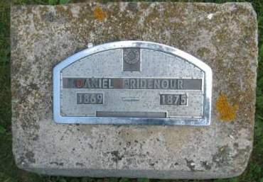 RIDENOUR, DANIEL D, - Poweshiek County, Iowa | DANIEL D, RIDENOUR
