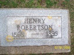 ROBERTSON, HENRY - Poweshiek County, Iowa | HENRY ROBERTSON