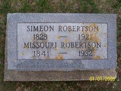 ROBERTSON, MISSOURI (BARBER) - Poweshiek County, Iowa   MISSOURI (BARBER) ROBERTSON