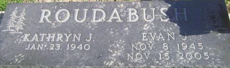 ROUDABUSH, EVAN J. - Poweshiek County, Iowa | EVAN J. ROUDABUSH