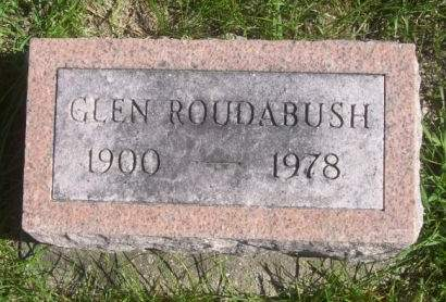 ROUDABUSH, GLEN - Poweshiek County, Iowa | GLEN ROUDABUSH