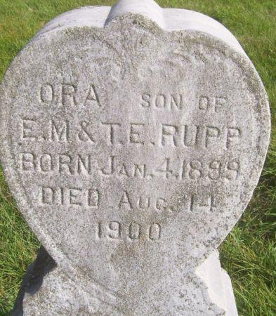RUPP, ORA - Poweshiek County, Iowa | ORA RUPP