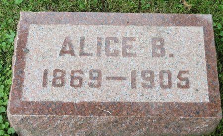 SLOAN, ALICE B. - Poweshiek County, Iowa | ALICE B. SLOAN