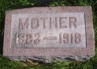 STOTELMYRE, MOTHER - Poweshiek County, Iowa | MOTHER STOTELMYRE