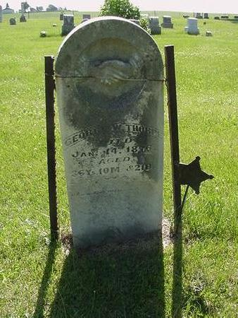 THORPE, GEORGE - Poweshiek County, Iowa | GEORGE THORPE