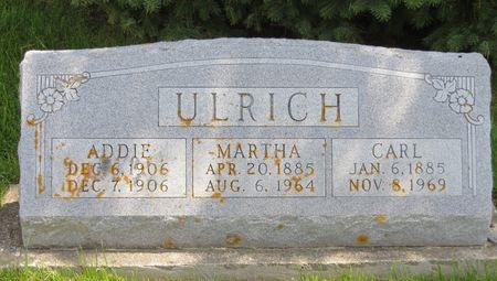 ULRICH, MARTHA - Poweshiek County, Iowa | MARTHA ULRICH