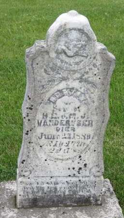 VANDERVEER, BERTIE - Poweshiek County, Iowa | BERTIE VANDERVEER
