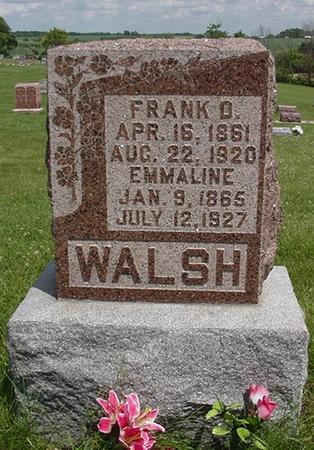 WALSH, FRANK - Poweshiek County, Iowa | FRANK WALSH