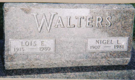 WALTERS, LOIS E - Poweshiek County, Iowa | LOIS E WALTERS
