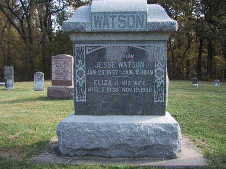 WATSON, ELIZA J. - Poweshiek County, Iowa | ELIZA J. WATSON