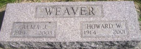 WEAVER, ALMA J. - Poweshiek County, Iowa | ALMA J. WEAVER