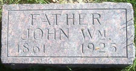 WEAVER, JOHN WILLIAM - Poweshiek County, Iowa | JOHN WILLIAM WEAVER
